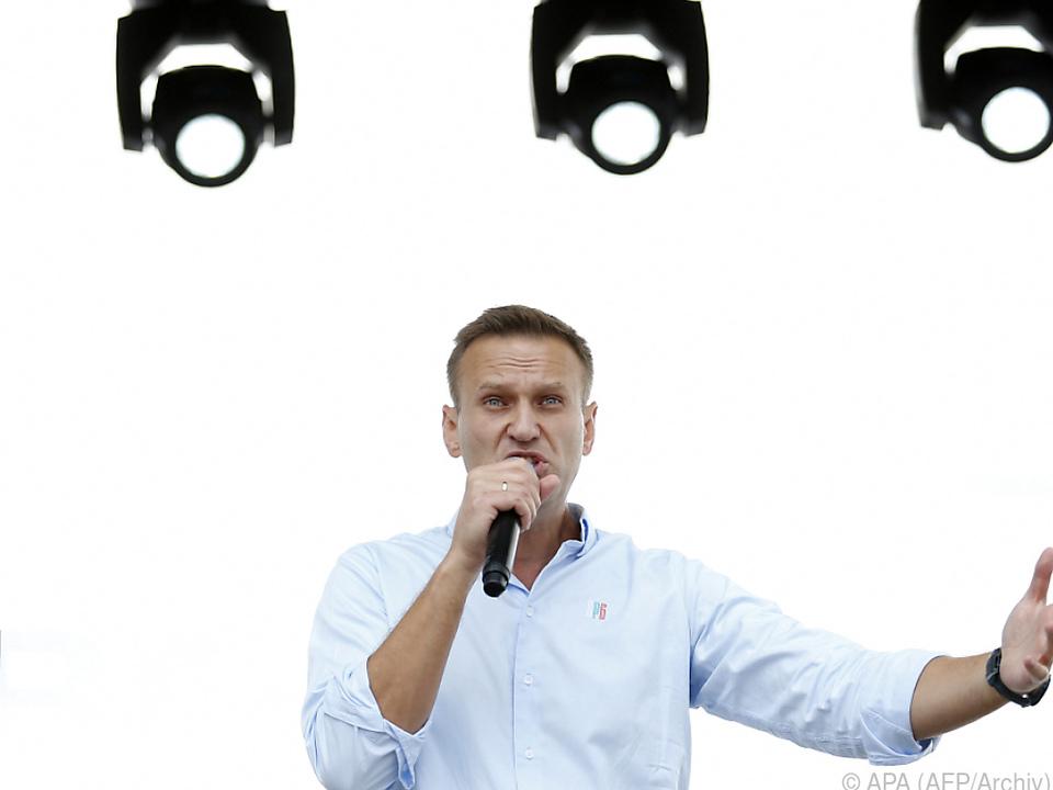 Nawalny befindet sich derzeit noch zur Reha in Deutschland