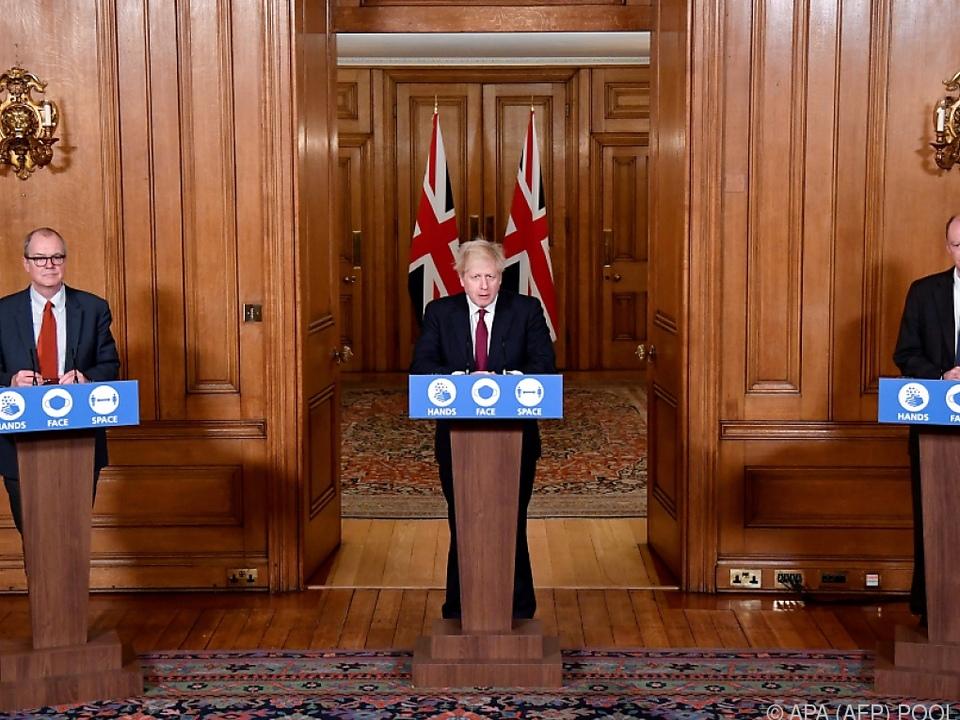 PK GB-Premier Johnson zu neuerm Coronavirus