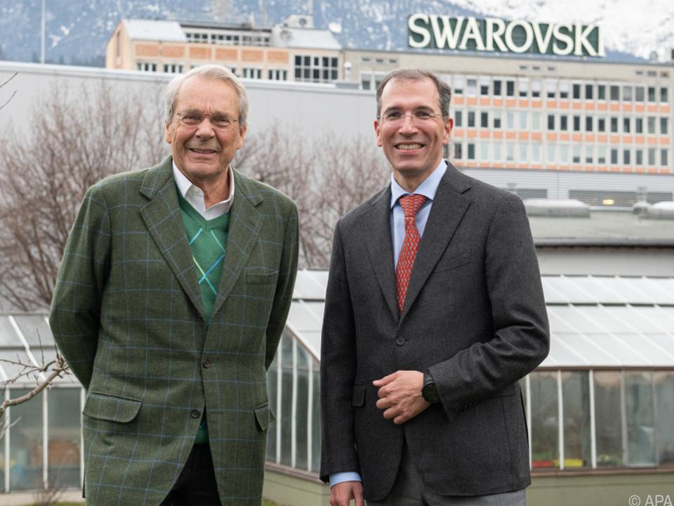 Christoph Swarovski (rechts) verpasste die nötige Zustimmung