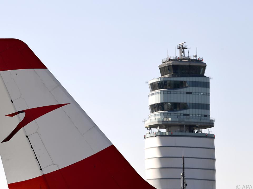 Flughafen Wien mit starkem Passagierminus
