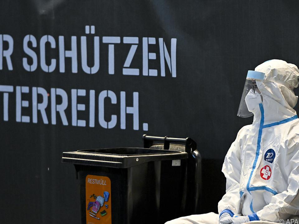 Österreich bereitet sich auf dritten Lockdown vor