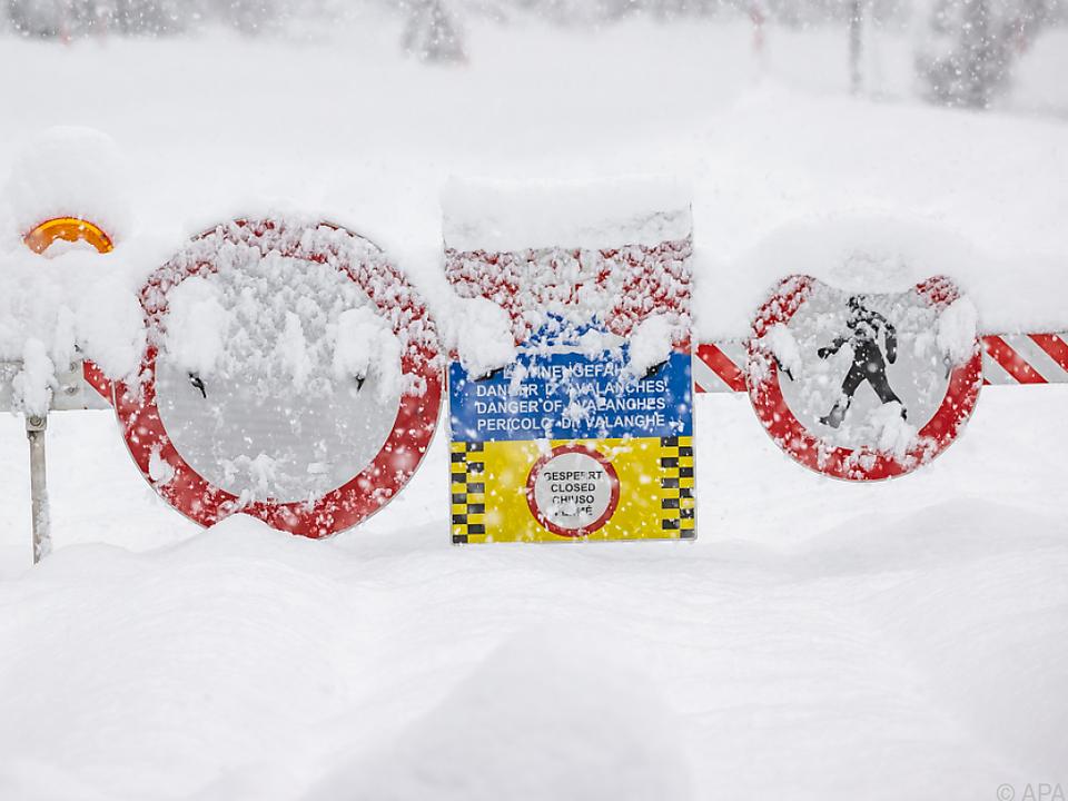 Osttirol versinkt im Schnee