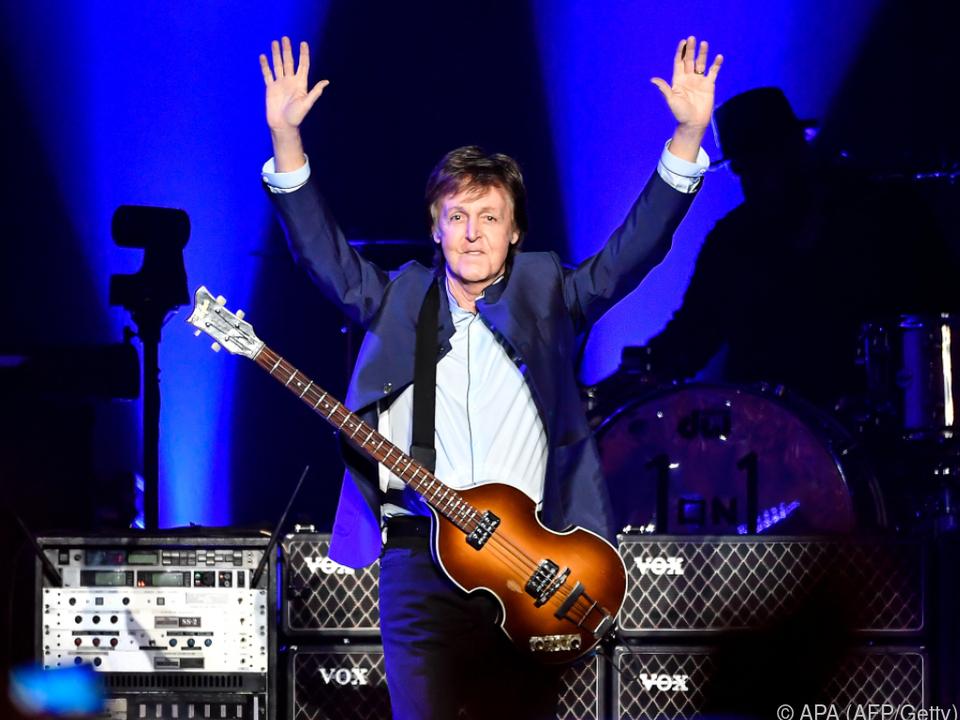 Paul McCartney hat ein neues Album am Start
