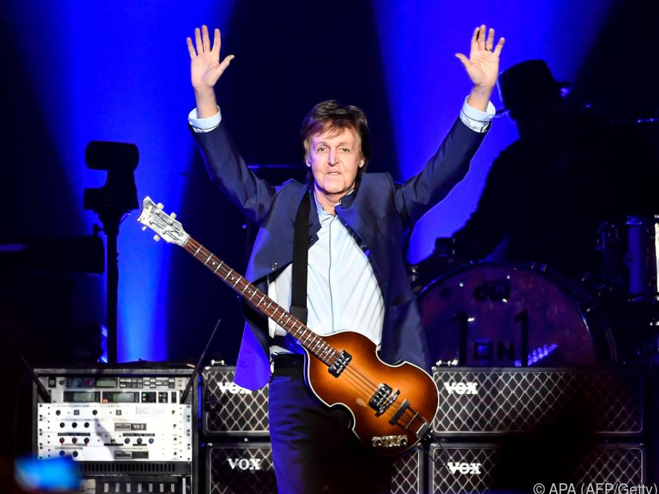 Paul McCartney wird sich impfen lassen
