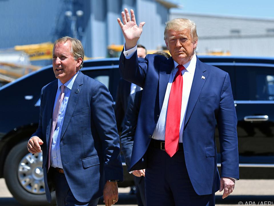 Paxton und Trump im Juni 2020