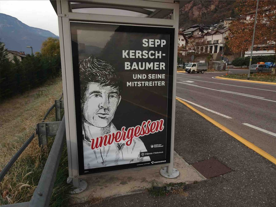 Plakat Kerschbaumer Bushaltestelle 2020