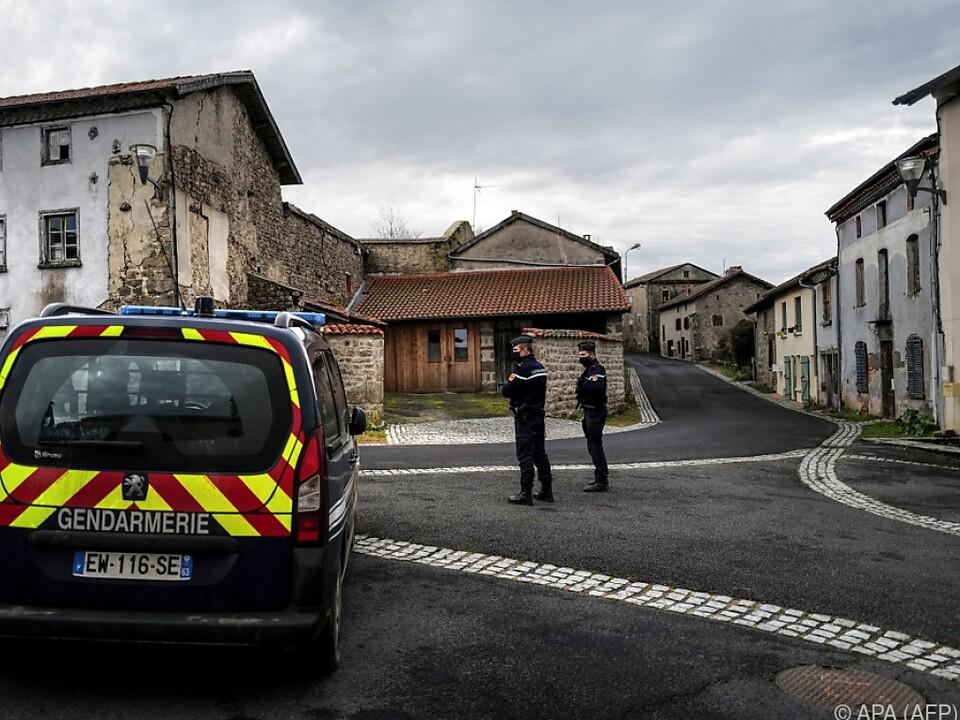 Der Ort des Geschehens in Zentralfrankreich
