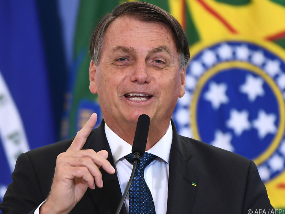 Präsident Jair Bolsonaro will sich nicht impfen lassen