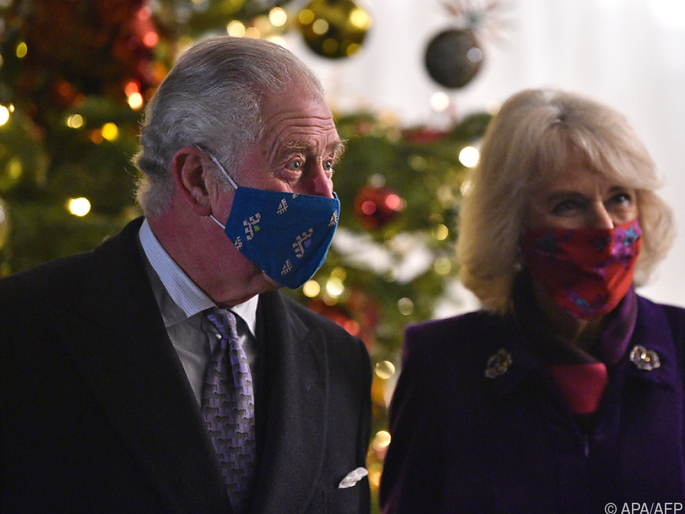 Prinz Charles und Herzogin Camilla helfen Künstlern (Archivbild)