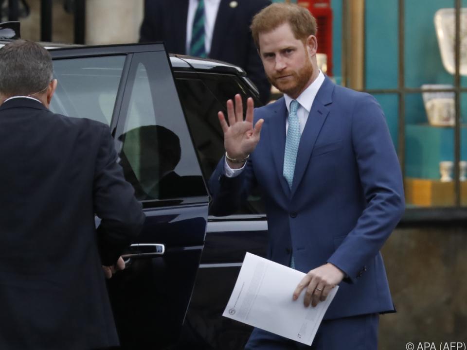 Prinz Harry wehrt sich gegen Boulevardpresse