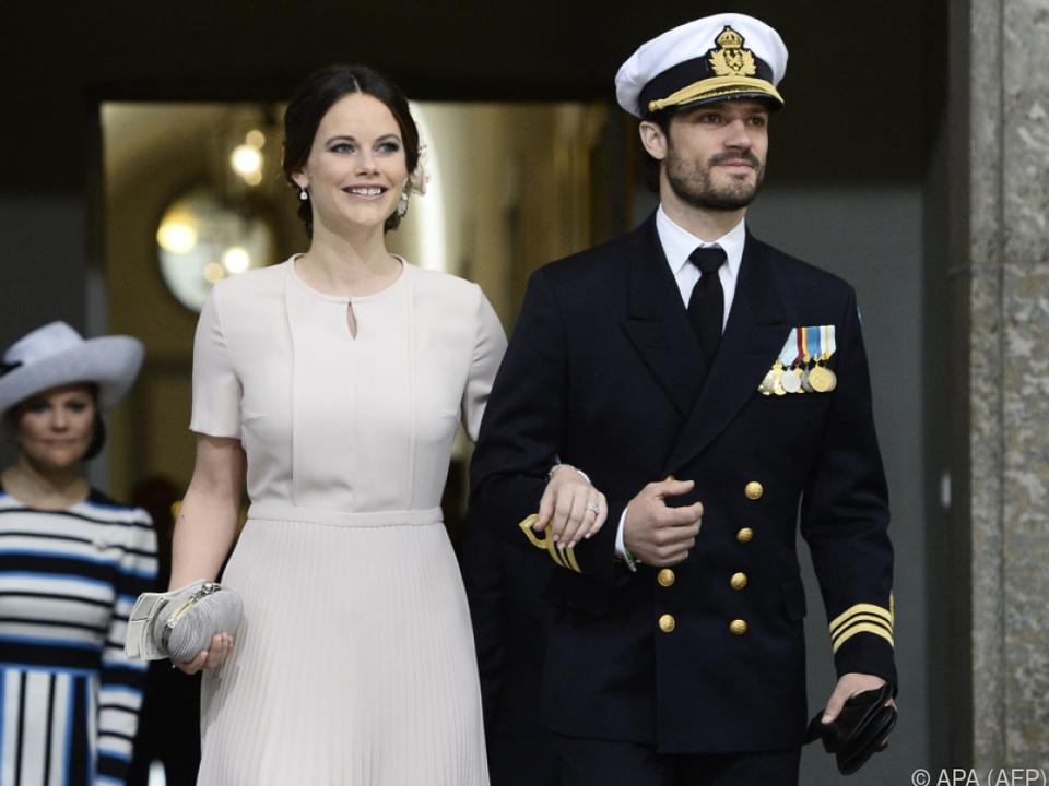 Prinzessin Sofia und Prinz Carl Philip erwarten ihr drittes Kind