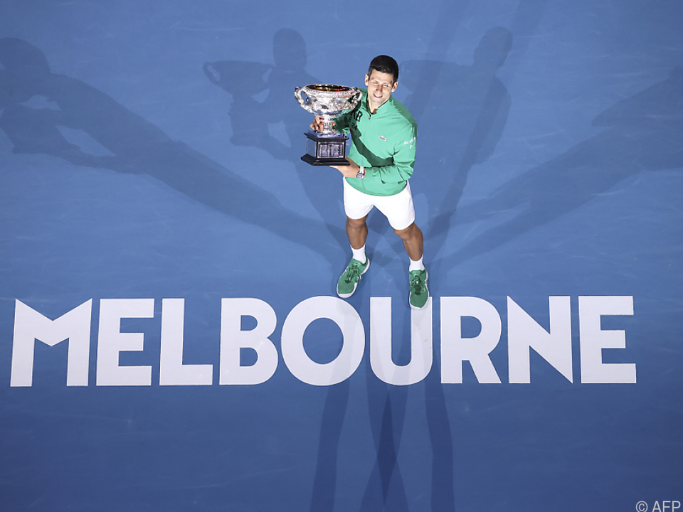 Djokovic kann seinen Titel erst ab 8. Februar verteidigen