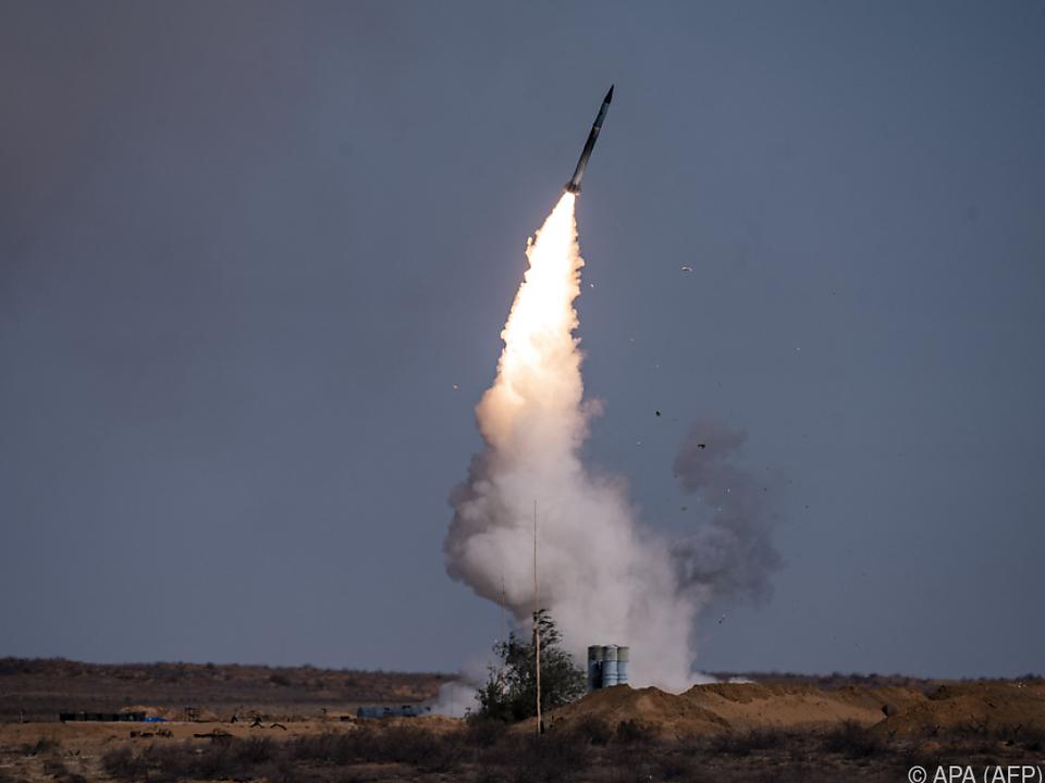 Raketenabwehrsystem S-400 im Einsatz