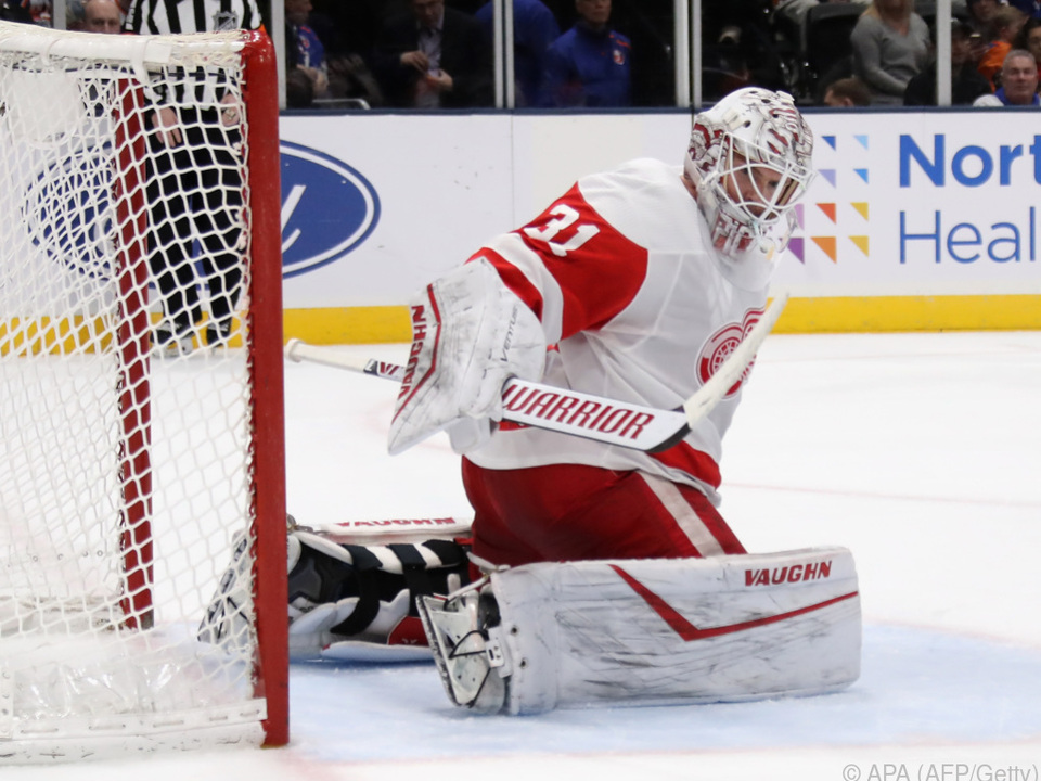 Red-Wings-Goalie Calvin Pickard kommt nach Wien