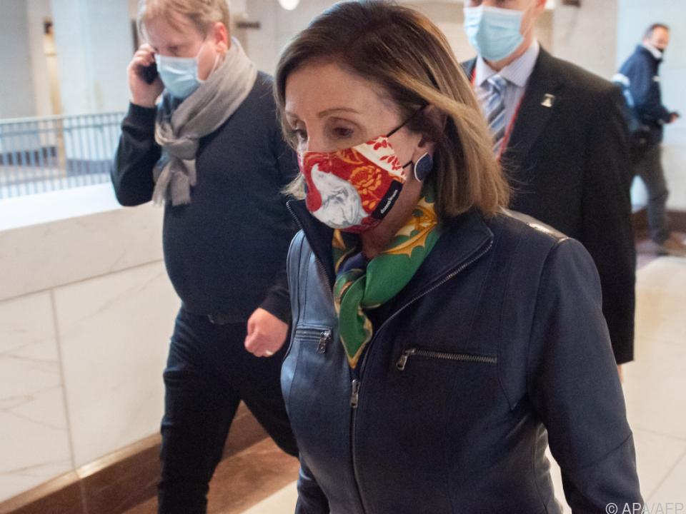 Nancy Pelosi fordert Republikaner zum Einlenken auf