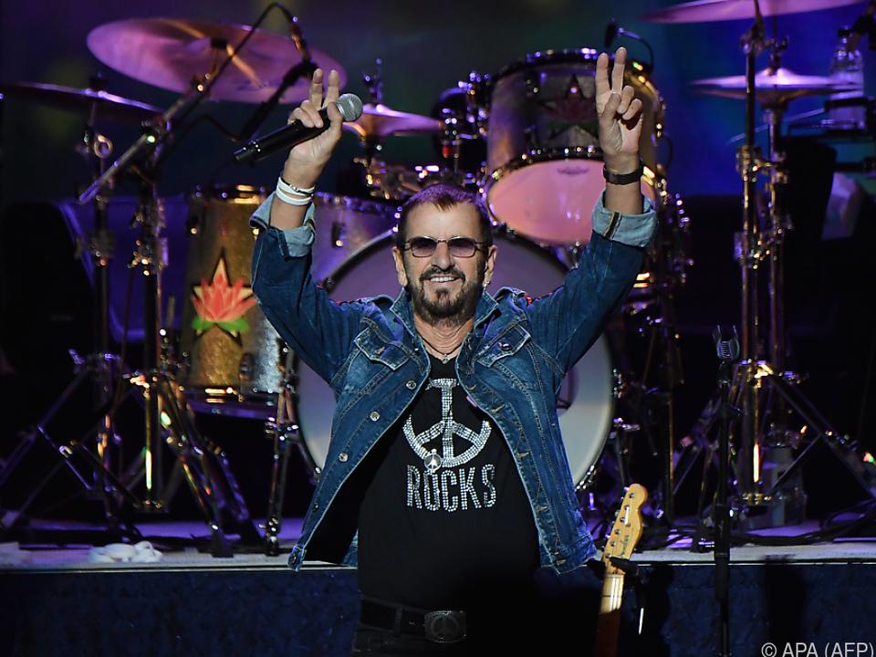 Ringo Starr ist bereits Urgroßvater