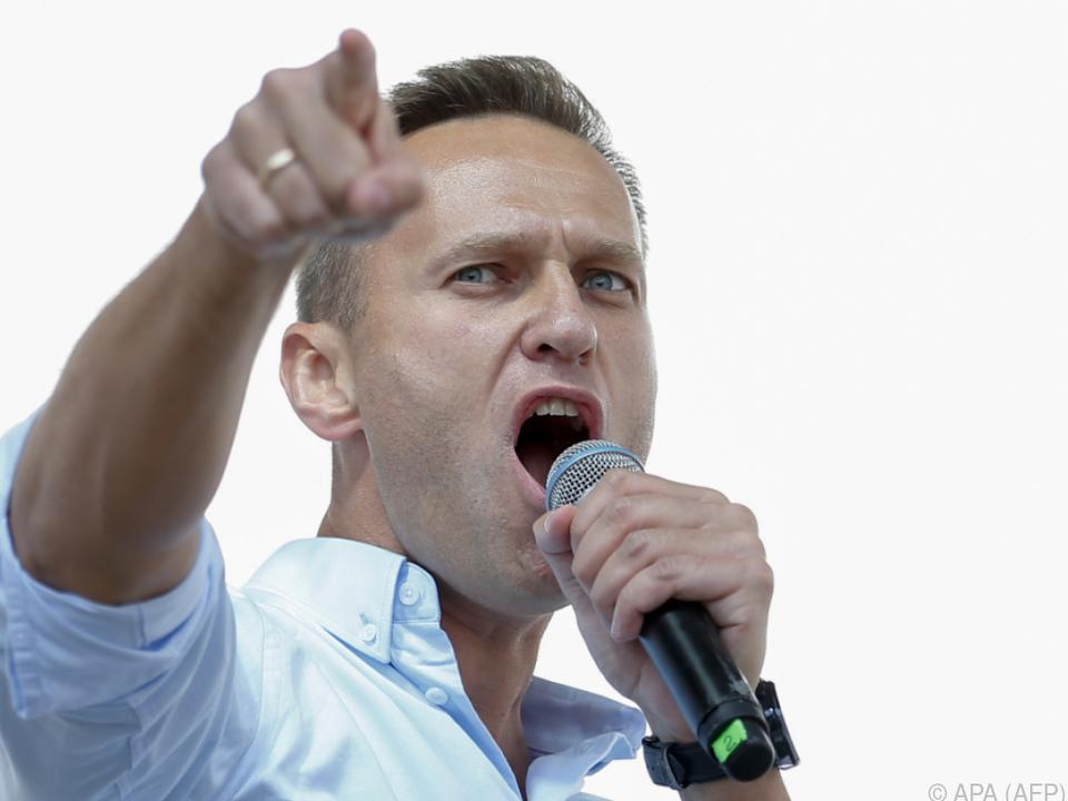 Oppositioneller soll laut Behörden in Moskau erscheinen