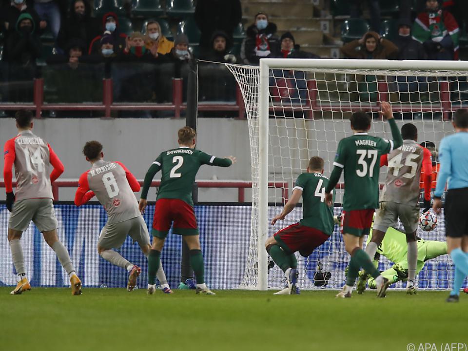 Salzburg hatte den Gegner stets gut im Griff
