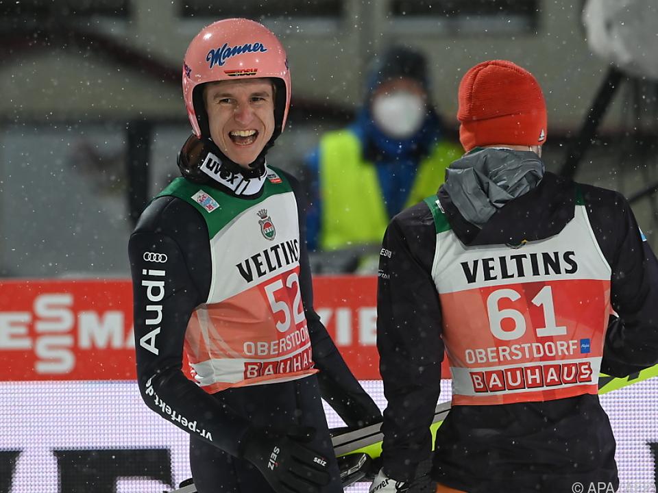 Geiger holte in Oberstdorf den Tournee-Heimsieg