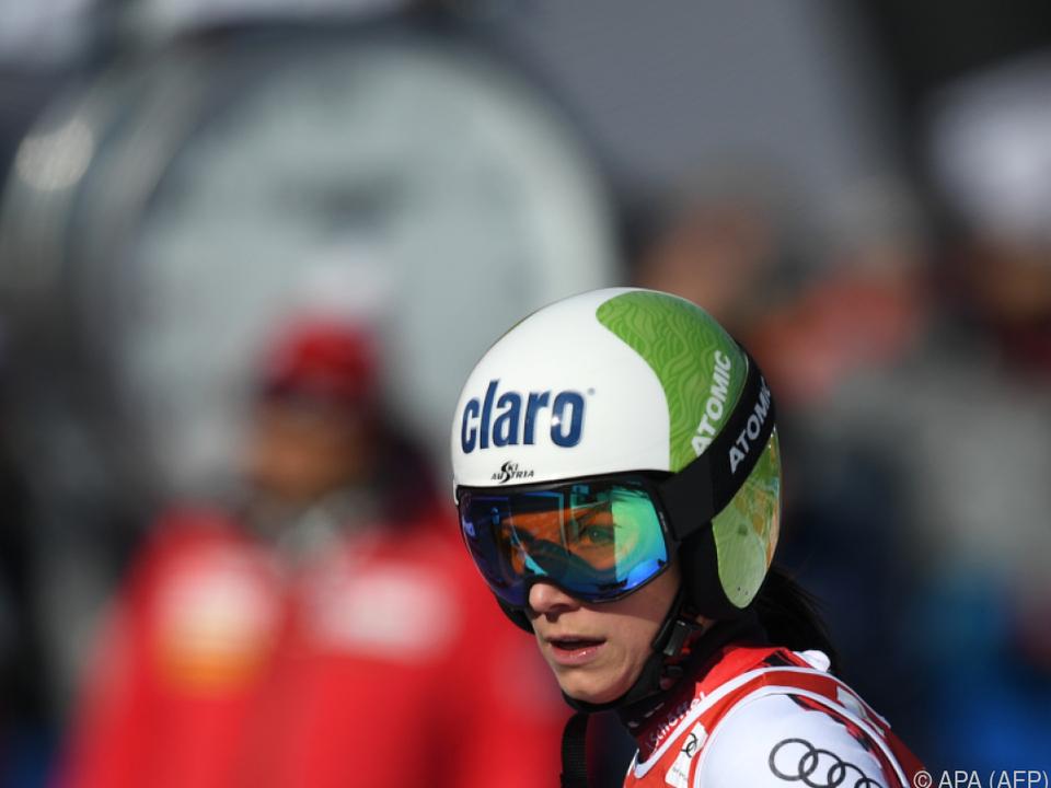 Mirjam Puchner war Österreichs Beste im ersten Val d\'Isere-Training