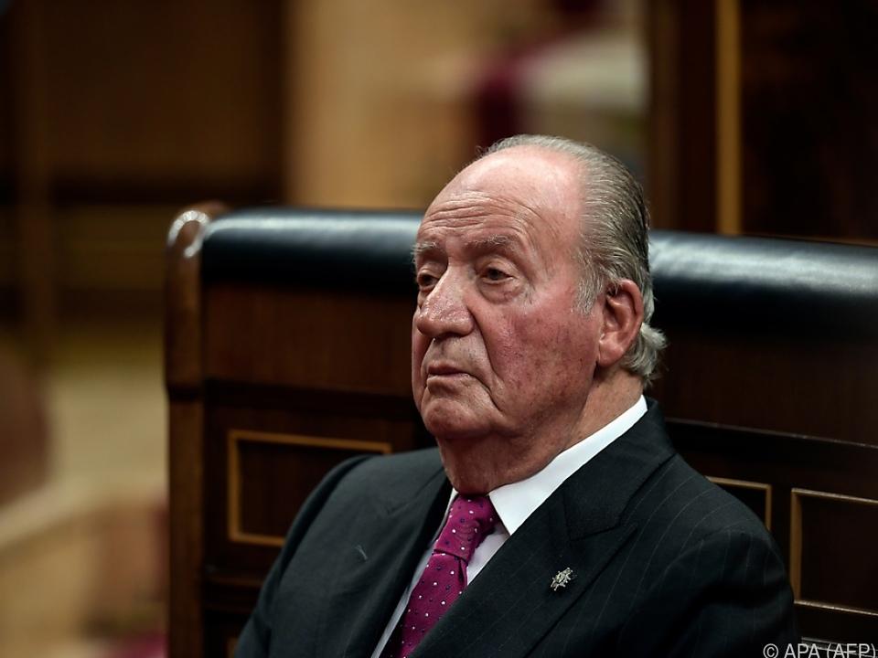 Spaniens Altkönig Juan Carlos lebt derzeit im Exil