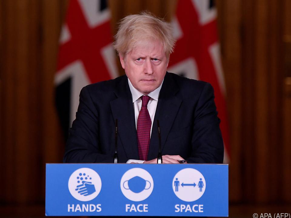 Johnson hatte zuvor sein Krisenkabinett einberufen