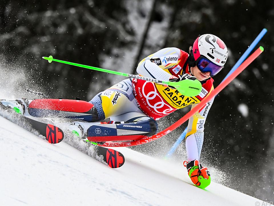 Henrik Kristoffersen gewann am Dienstag den Slalom in Madonna