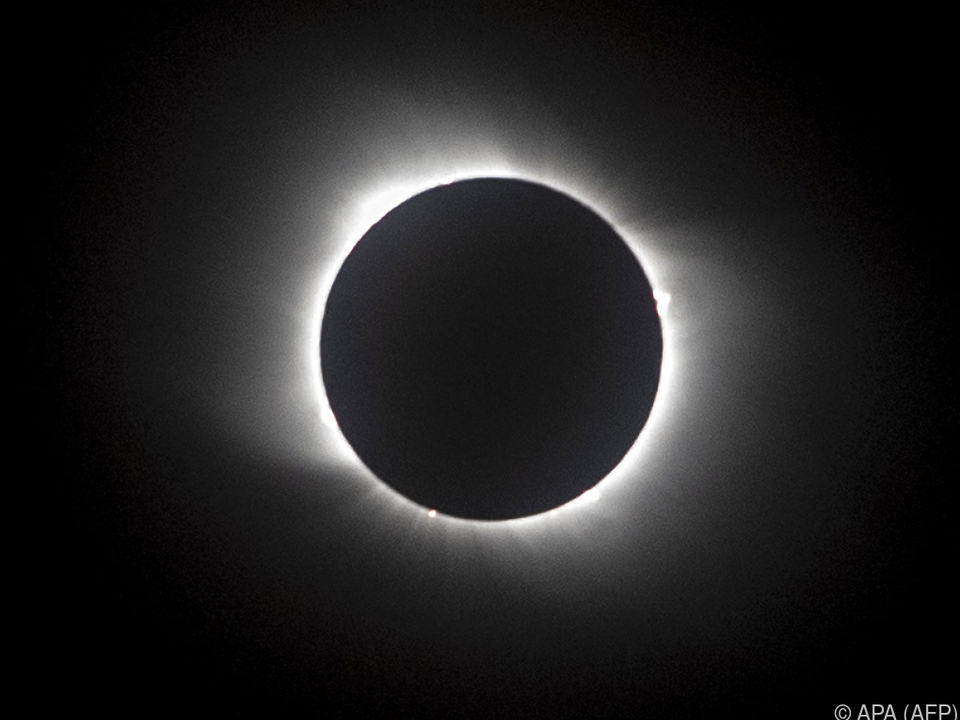 Totale Sonnenfinsternis über Chile