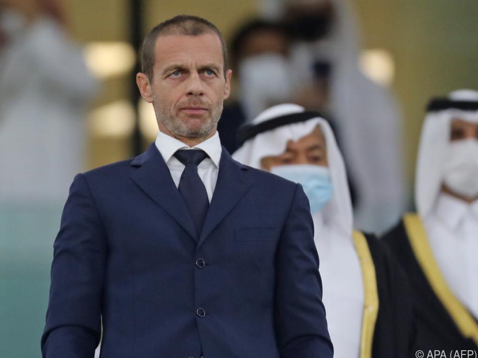 UEFA-Boss Ceferin sieht Fußball-Gemeinschaft enger zusammengerückt