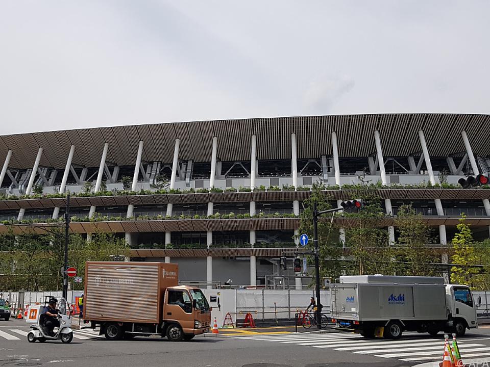 Olympiastadion in Tokio