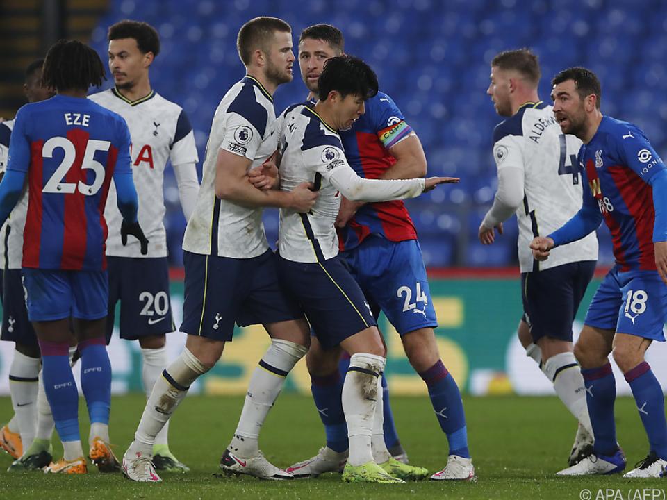 Umkämpftes Match zwischen Tottenham und Crystal Palace