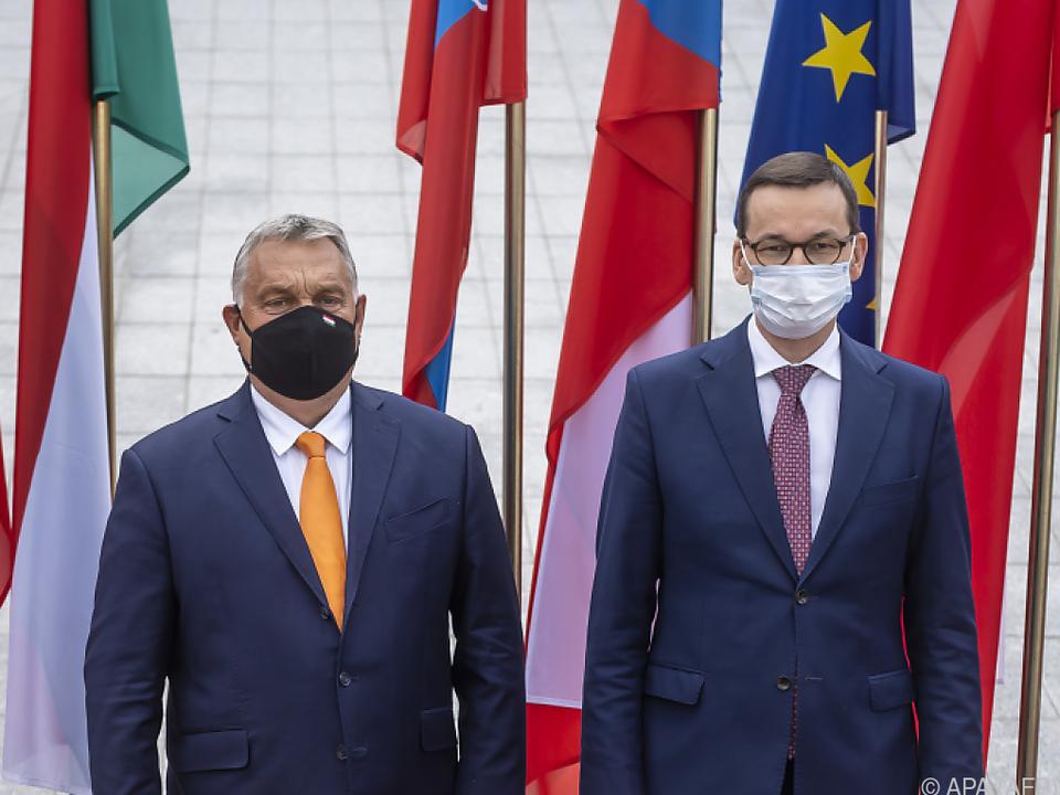 Ungarn und Polen blockieren mit Veto