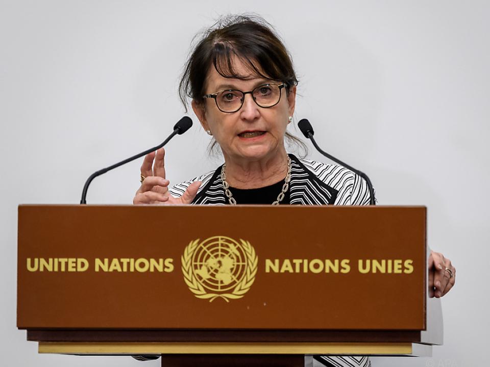 UNO-Sonderbeauftragte Deborah Lyons spricht von einem \