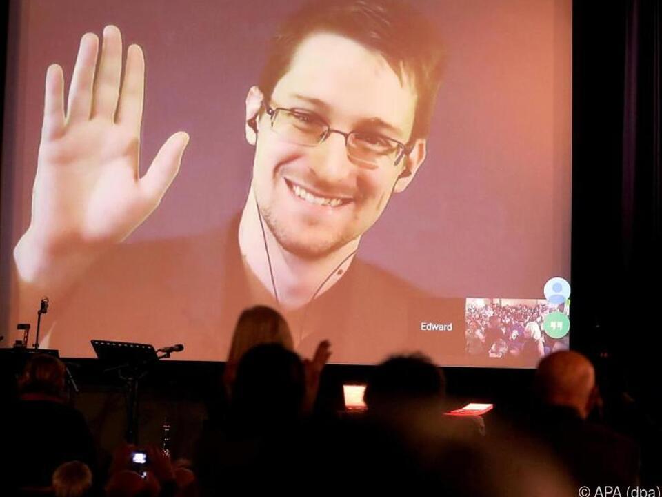 Vaterfreuden für den US-Whistleblower (Archivbild) in Russland