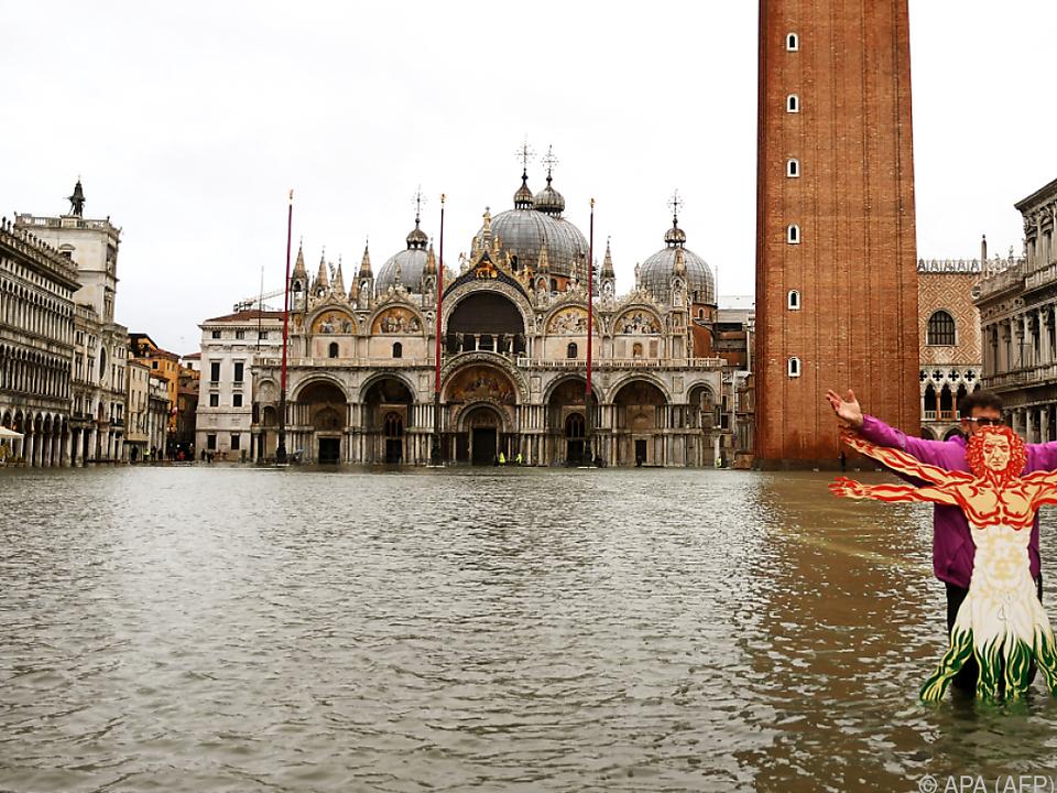 Venedig rechnete nicht mit so starken Regenfällen