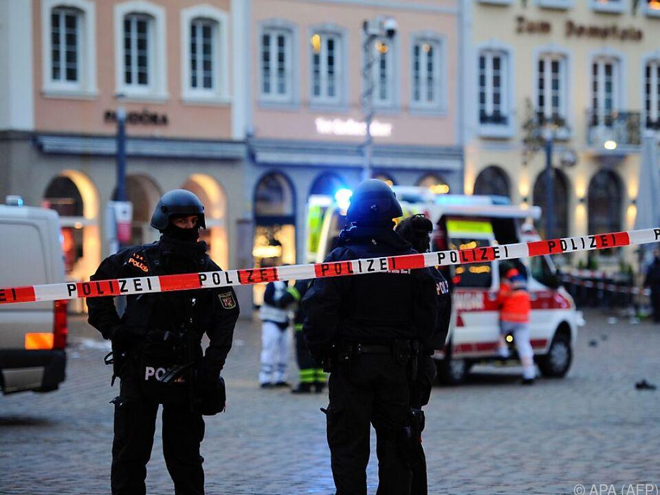 Verheerende Szenen in der Altstadt von Trier