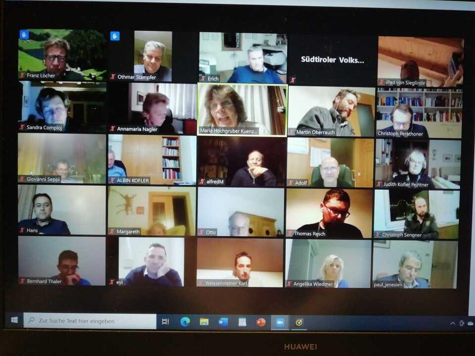 Videokonferenz Raumordnung