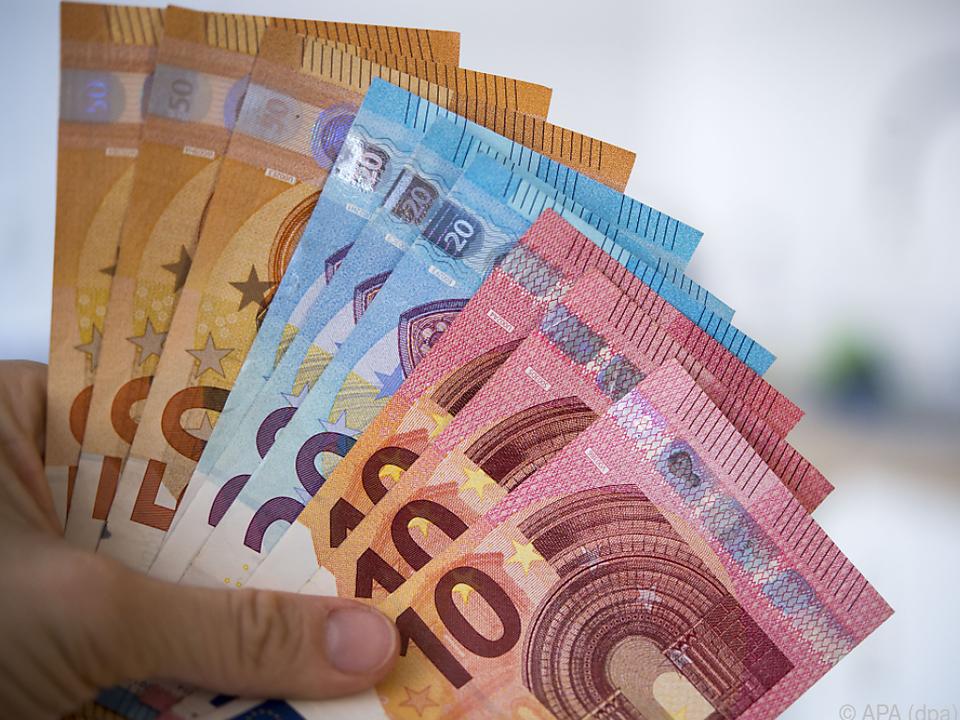 Viel Geld wurde vorsichtshalber zur Seite gelegt