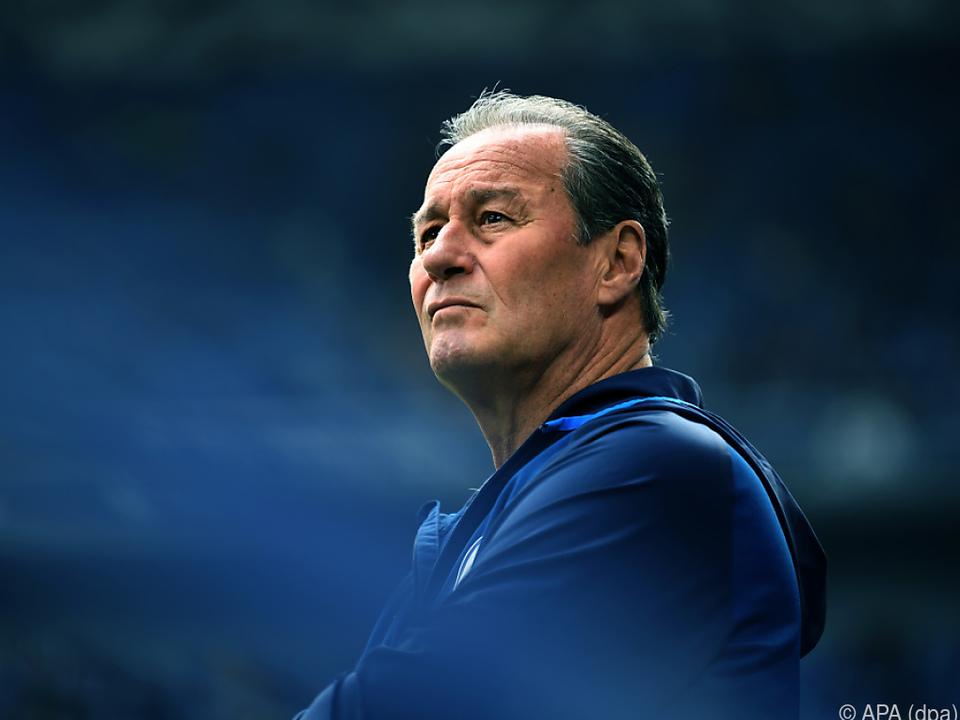 Stevens kehrt wieder einmal auf die Schalke-Trainerbank zurück