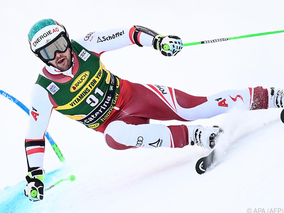 Vincent Kriechmayr hat einen schnellen Ski