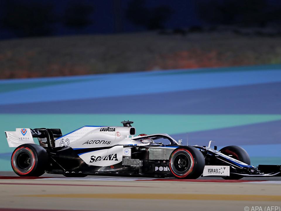 Vom Williams wechselt Russell zumindest für ein Rennen in den Mercedes