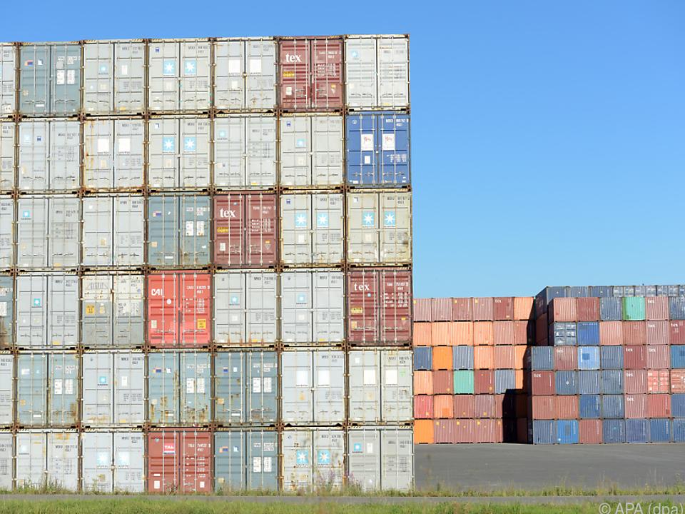 Exporte im September in Plus