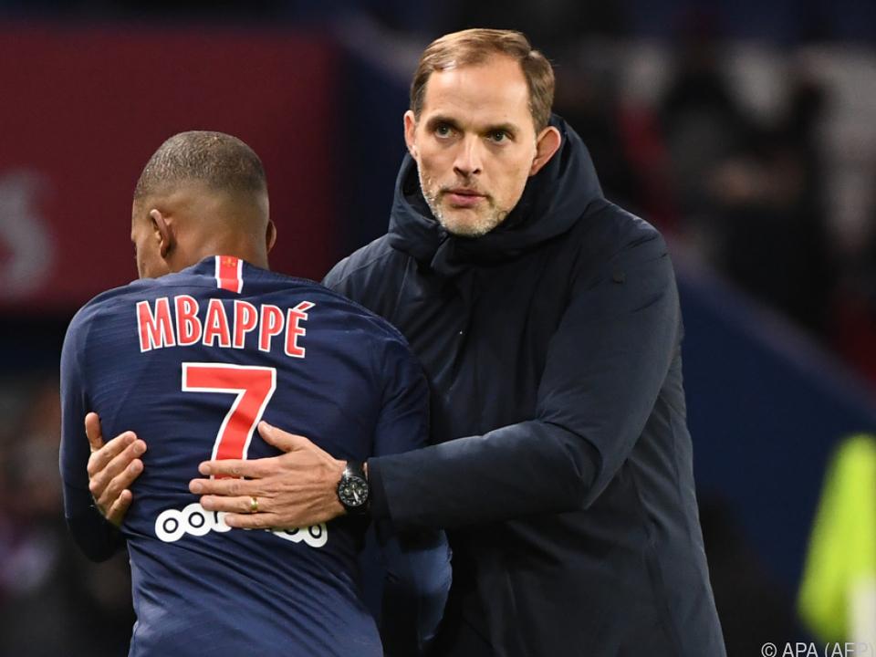 Mbappe bedankt sich für Amtzeit des gefeuerten PSG-Coaches Tuchel