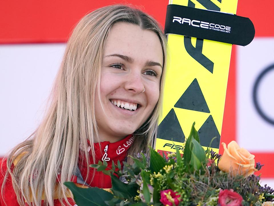 Chiara Hölzl führt die motivierten ÖSV-Skispringerinnen an