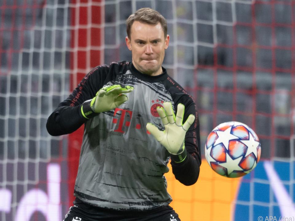 Welttorhüter Neuer vor Leverkusen-Spiel: \