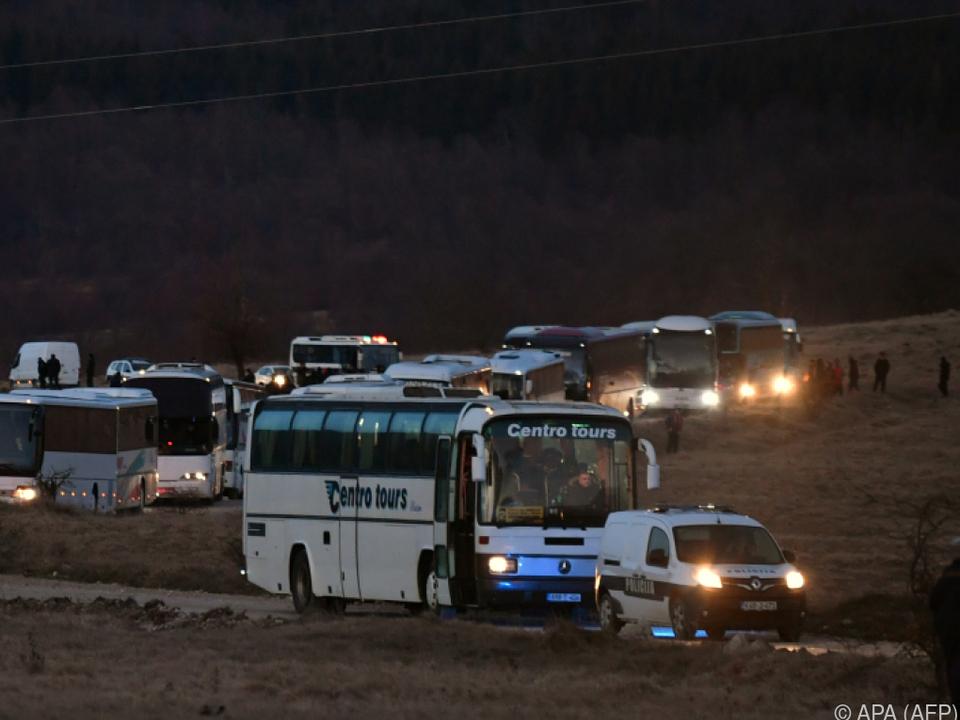 Flüchtlinge hätten in ehemalige Kaserne gebracht werden sollen