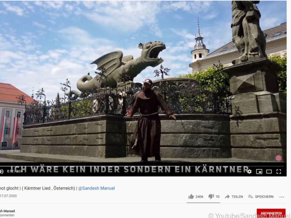 Youtube-Video zum Kärnten-Rap \