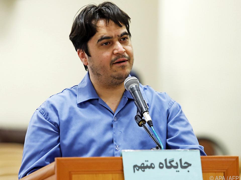 Zam soll Anti-Iran-Propaganda betrieben haben