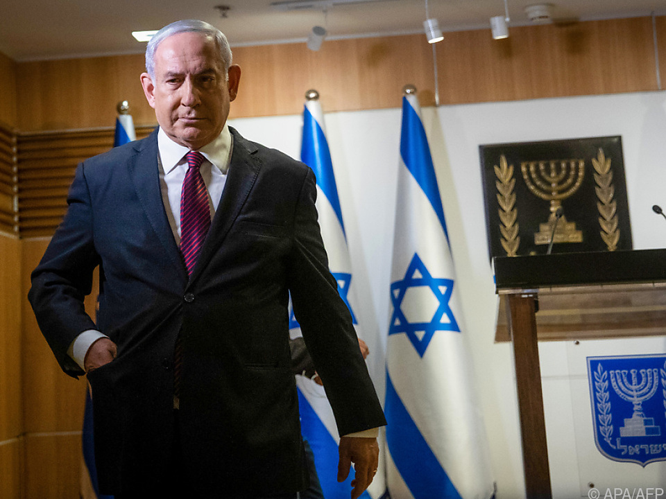 Israels Premier Netanyahu in der Knesset