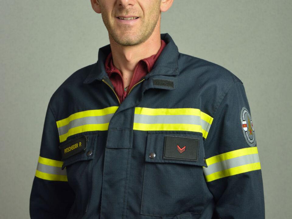 Hauptfeuerwehrmann Paolo Pitscheider